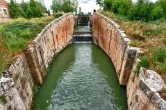 Canal de Castilla Royalty Free Stock Photography