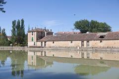 Canal de Castilla y Le�n, Spain Royalty Free Stock Photography