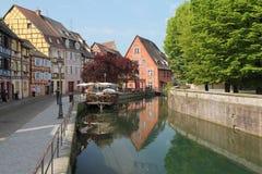 Canal de Colmar Photo libre de droits