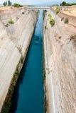 Canal de Corinth Fotos de Stock Royalty Free