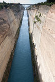 Canal de Corinth Fotos de Stock
