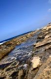 Canal de coupe de vague Photos stock