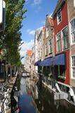 Canal de Delft Fotografía de archivo