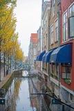 Canal de Delft Images libres de droits