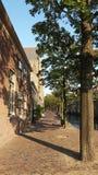 Canal de Dordrecht Photos stock