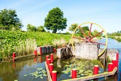 Canal de ElblÄg del equipo del canal Fotografía de archivo