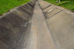 Canal de fonte da água Fotografia de Stock