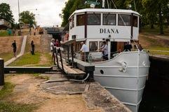 Canal de Göta Foto de Stock Royalty Free