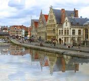 Canal de Gante Imagen de archivo