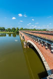 Canal de Garonne in Moissac, France Stock Photo