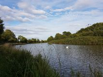 Canal de Gloucester imagem de stock