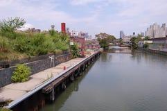 Canal de Gowanus, New York City Imagen de archivo libre de regalías