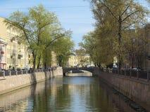 Canal de Griboyedov Fotos de archivo