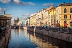 Canal de Griboyedov photos libres de droits