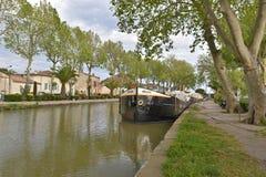 Canal de Jonction σε Salleles δ ` Aude Στοκ εικόνες με δικαίωμα ελεύθερης χρήσης