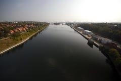 Canal de Kiel Fotos de Stock