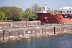Canal de Kiel Fotos de Stock Royalty Free