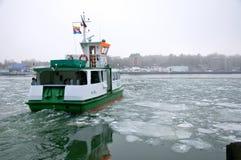 Canal de Kiel del transbordador Imágenes de archivo libres de regalías