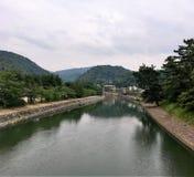 Canal de Kyoto imagen de archivo