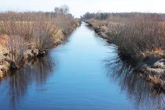 Canal de l'eau Images libres de droits
