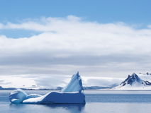 Canal de la Antártida Neumayer Fotos de archivo libres de regalías