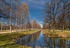 Canal de la primavera Fotografía de archivo