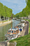 Canal de la Robin in Narbonne Royalty Free Stock Photography