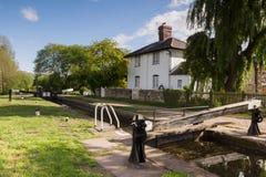 Canal de la unión de Shropshire Imagen de archivo libre de regalías
