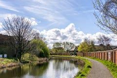 Canal de Leeds Liverpool Fotografia de Stock Royalty Free