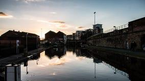Canal de Leeds y de Liverpool Imagenes de archivo