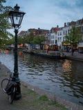 Canal de Leiden Imagen de archivo