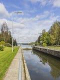 Canal de Lempaala Fotografía de archivo libre de regalías