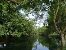 Canal de Linqu Foto de archivo
