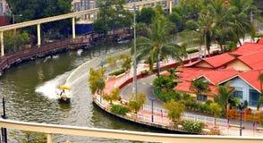 Canal de Malacca Fotografia de Stock Royalty Free