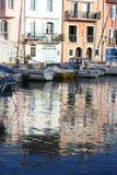 Canal de Martigues Imagenes de archivo