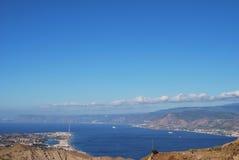 Canal de Messina Imagem de Stock