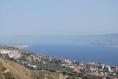Canal de Messina Imagens de Stock