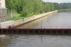Canal de Moscou Image libre de droits