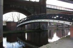 Canal de nave de Manchester Foto de archivo libre de regalías
