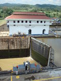 Canal de Panamá Imagen de archivo libre de regalías