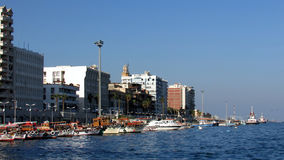 Canal de Porto Said Suez fotografia de stock