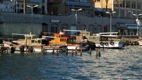Canal de Porto Said Suez Imagens de Stock Royalty Free