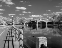 Canal de Rideau à Ottawa Image stock