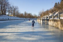 Canal de Rideau Fotografia de Stock