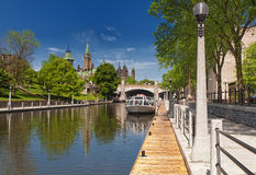 Canal de Rideau Photographie stock libre de droits