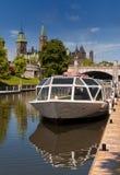 Canal de Rideau Photo libre de droits