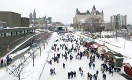 Canal de Rideau Image libre de droits