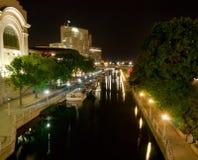 Canal de Rideau en Ottawa, Ontairio, Canadá Imágenes de archivo libres de regalías