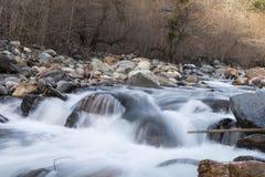 Canal de rio Imagens de Stock Royalty Free