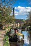 Canal de Rochdale Foto de archivo libre de regalías